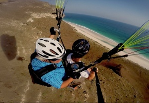 Twin Paragliding Oman