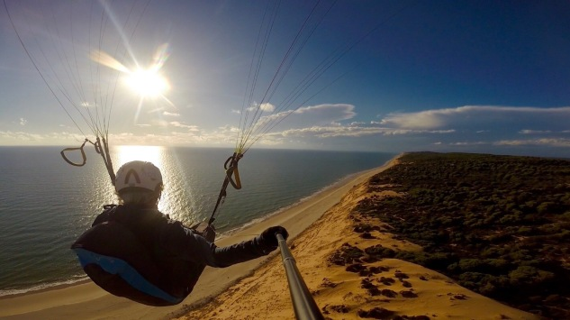 Paragliding Andalusien